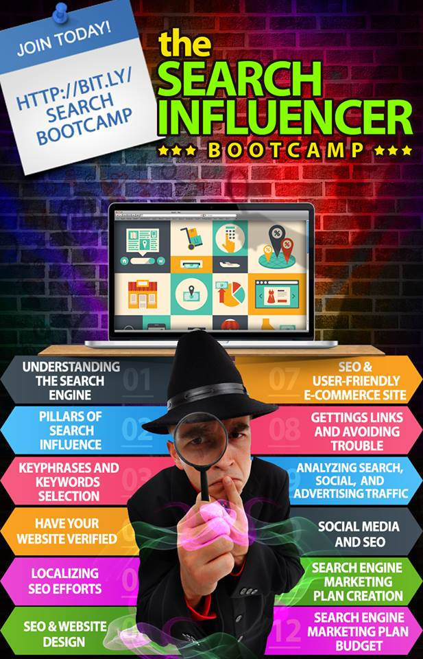 Search Influencer Boot Camp