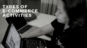 types of e-commerce activities