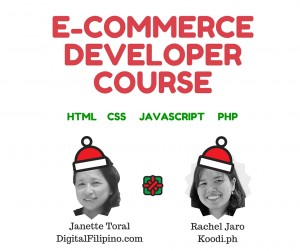 E-Commerce Developer Course