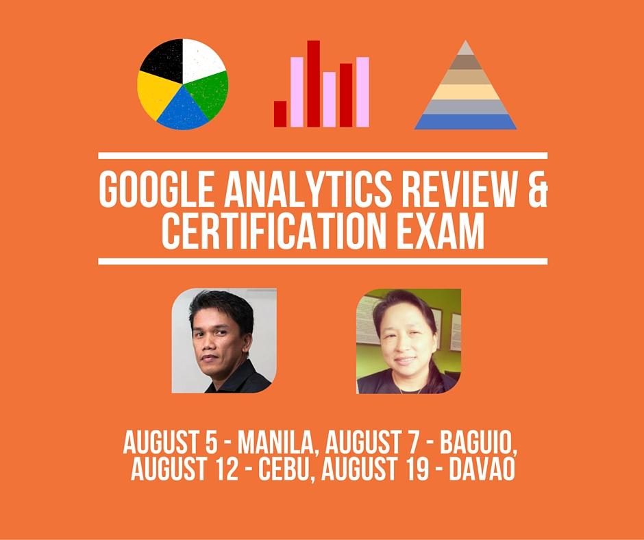Google Analytics Review & Certification Exam
