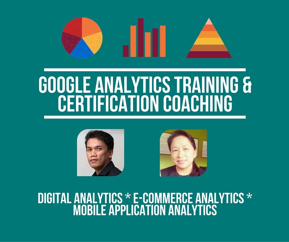 Google Analytics Training & Certification Coaching